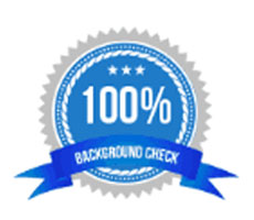 100% Background Check